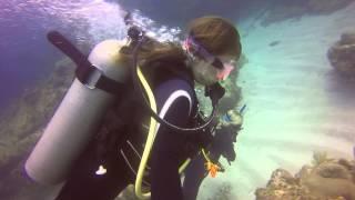 Russian scuba girl