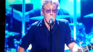 The Who - Behind Blue Eyes - Live @ Boston Garden 3/7/16
