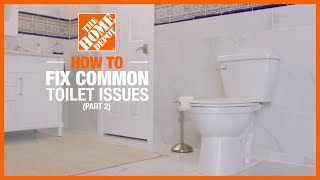 Adjustments to Your Toilet