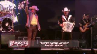Los Invasores de Nuevo León 'El Reencuentro' Vol 1en Vivo - Gracias Por Que Volviste