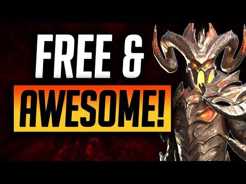 DREXTHAR is FREE and ENDGAME! | Raid: Shadow Legends