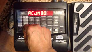 Digitech RP355 Acoustic Simulator Demo