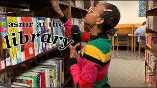 ASMR at the library 📚