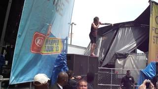 "Blessthefall-""40 Days"" Virginia Beach Warped Tour 2013"