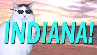 HAPPY BIRTHDAY INDIANA! - EPIC CAT Happy Birthday Song