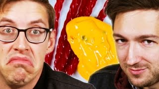 People Try Disgusting Snack Combinations