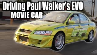 I got to Drive Paul Walker's EVO VII 2 Fast 2 Furious - Joyride Review