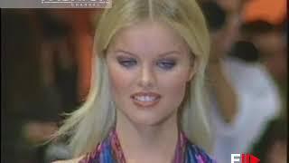 GENNY Spring Summer 1993 Milan - Fashion Channel