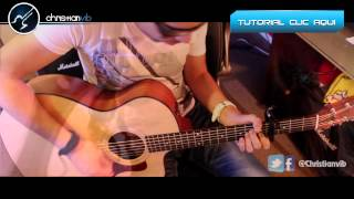 Addicted To You AVICII Acoustic Cover Guitar Tutorial