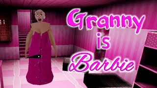 Granny Is Barbie Full Gameplay