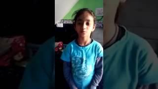 शहीद की बेटी ने अपने पापा को बुलाने के लिये क्या गाना गाया है..आप की आँखों से आँसू नहीं रुकेंगे..