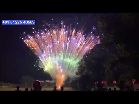 Fireworks Entry Wedding Marriage Reception Event  +91 81225 40589