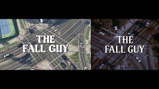 The Fall Guy - GTA V split screen comparison