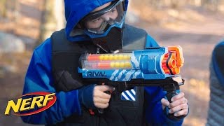 NERF Rival: 'Artemis XVII-3000 Blaster' Digital Short