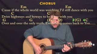 This Town (Niall Horan) Guitar Lesson Chord Chart with On-Screen Lyrics - Capo 2nd