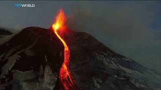Italy Volcano Eruption: Mount Etna on Sicily has continued to erupt