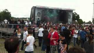 HipHop Open 2012 Cro - Einmal um die Welt- Live 14.7.2012