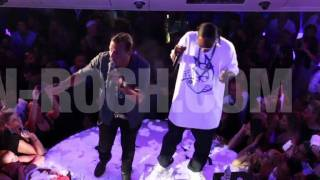 JEAN-ROCH FEAT. SNOOP DOGG 'ST-TROPEZ' VERY FIRST LIVE PERFORMANCE!!