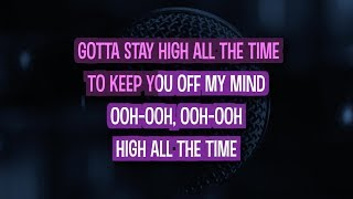 Habits (Stay High) Karaoke Version by Tove Lo (Video with Lyrics)