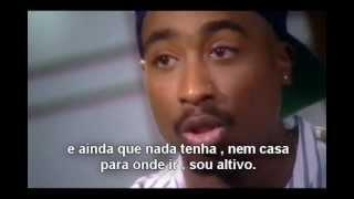 Tupac explica o que  a 'THUG LIFE'.