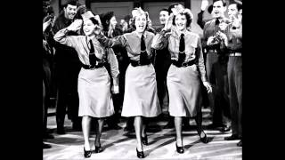 The Andrews Sisters - Boogie Woogie Bugle Boy (1941)
