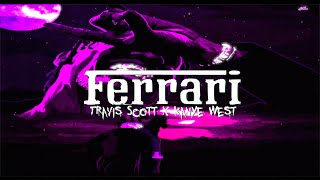 """Ferrari"" Travis Scott x Kanye West - Type Beat 