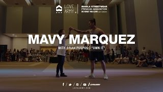 "Mavy Marquez ""Owning It"" with Brian Puspos"
