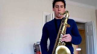 Careless Whisper Tenor Sax-Selmer Reference 54
