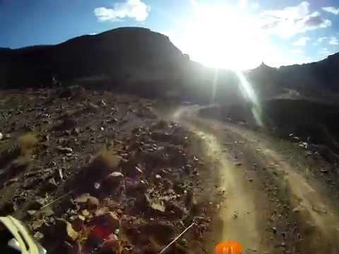 Djebel Saghro, Sunset ride Morocco