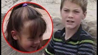 Com apenas 11 anos, menino resgata menina enterrada viva.