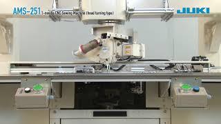 JUKI AMS-251 1-needle CNC sewing machine (head turning type)