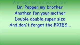 Fast Food Drive Thru Rap Lyrics