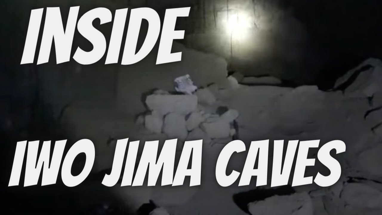 Inside WW2 Iwo Jima Caves