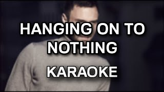 Måns Zelmerlöw - Hanging on to nothing [karaoke/instrumental] - Polinstrumentalista