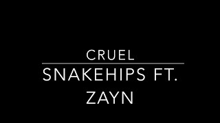 Cruel - Snakehips ft. Zayn (Cover by Ian Rivera)