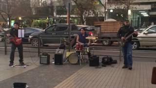 Street artists - Paranoid (Black Sabbath cover)