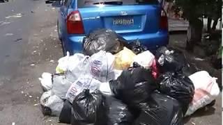RECOLECCIÓN DE BASURA EN SANTA TECLA