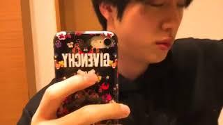 BTS Jin Cut His Own Hair