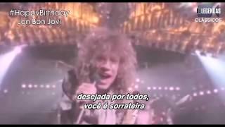 Bon Jovi - You Give Love A Bad Name (Legendado/Tradução) [OFFICIAL VIDEO]