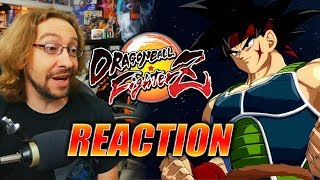 MAX REACTS: Bardock Gameplay Reveal - DRAGONBALL FIGHTERZ