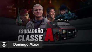 [Chamada] Domingo Maior - Esquadrão Classe A   Globo (31/01/2016).