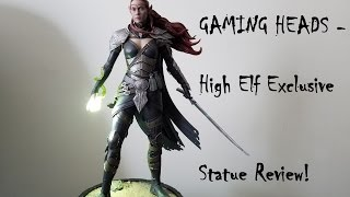 Gaming Heads - High Elf Statue from Elder Scrolls Online review