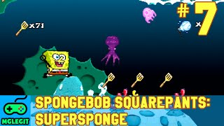 SpongeBob SquarePants SuperSponge Walkthrough Part 7 - Acrid Air Pockets (PS1) (No Commentary)