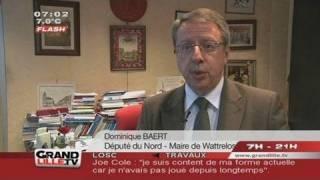 Legislatives 2012 : Dominique Baert mis sur la touche à Lille