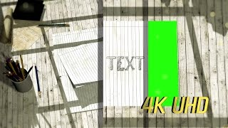 4K Opening Promo Intro Template Logo Reveal Green Screen Intro Template