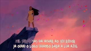 Pocahontas - Cores Do Vento (Karaoke HD)