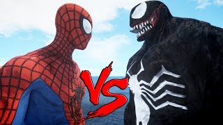 SPIDERMAN VS VENOM - EPIC BATTLE