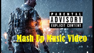 DMX - X Gon Give It To Ya (Mash up Music Video) Battlefield 4 *Clean*