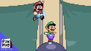 Mario vs Luigi - Obstacle Race