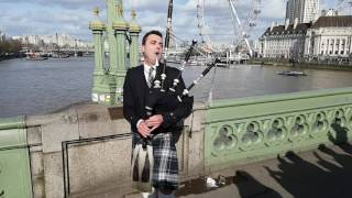 Thunderstruck on a Bagpipe